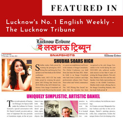 Featured in The lucknow Tribune