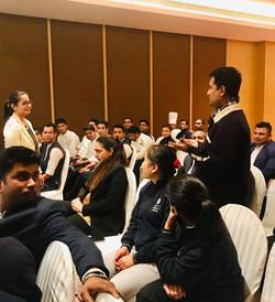 Training Workshop at Hyatt, Lucknow