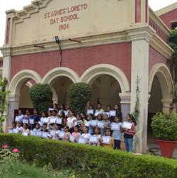 Workshop at Sr. Agnes' Loreto School