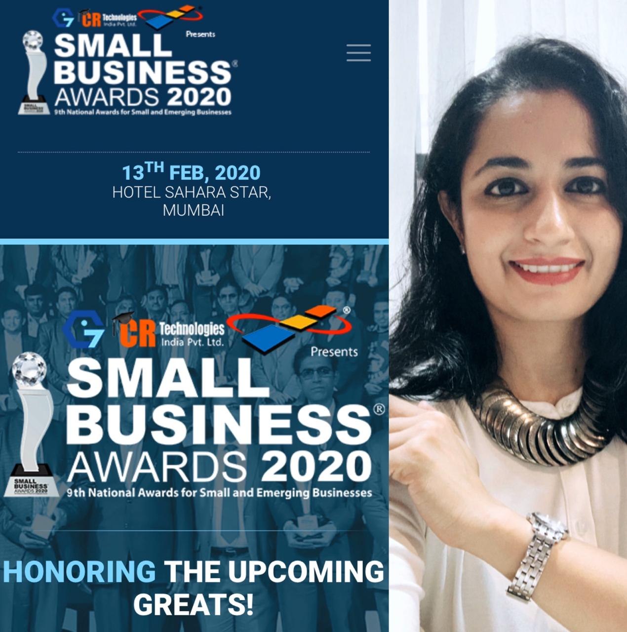 Nominated for Small Business Awards