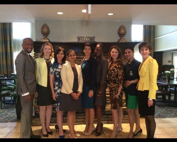 With Master Trainers and Colleagues at LII, Atlanta, Georgia, USA