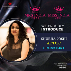 Official Image Consultant and Trainer for Ms and Mrs India 2021