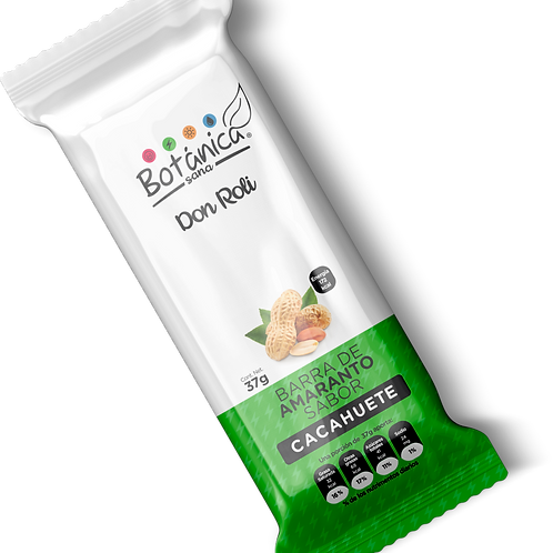 Aniversario ¨Don Roli¨ Barra de Amaranto sabor cacahuate