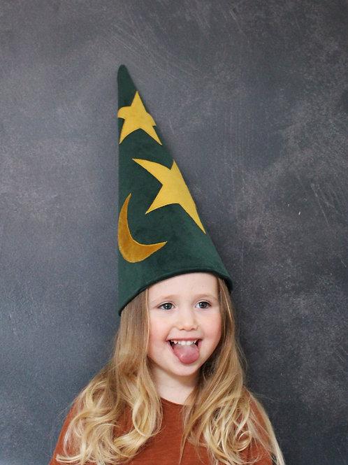Emerald Green Sorcerer's Hat