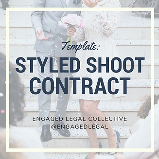 Engaged Legal Collective Contract Templates For Wedding And Events