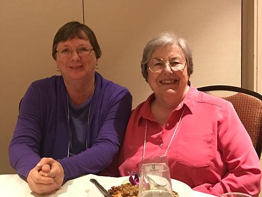 Dora Davenport and Margo Dixon