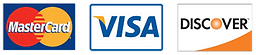 Master Card Visa American Express Discover