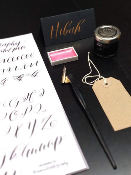 Pointed pen workshop