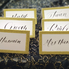 Wedding Calligraphy - Placecards