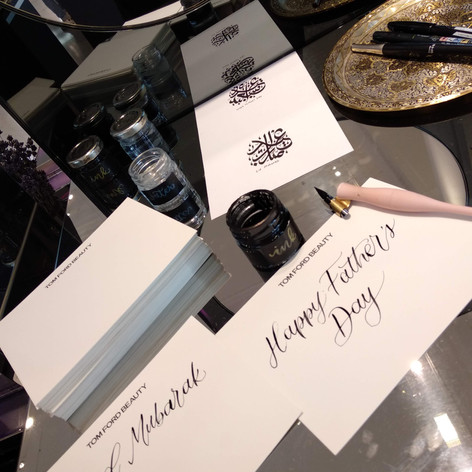 Live Event/ Onsite Calligraphy