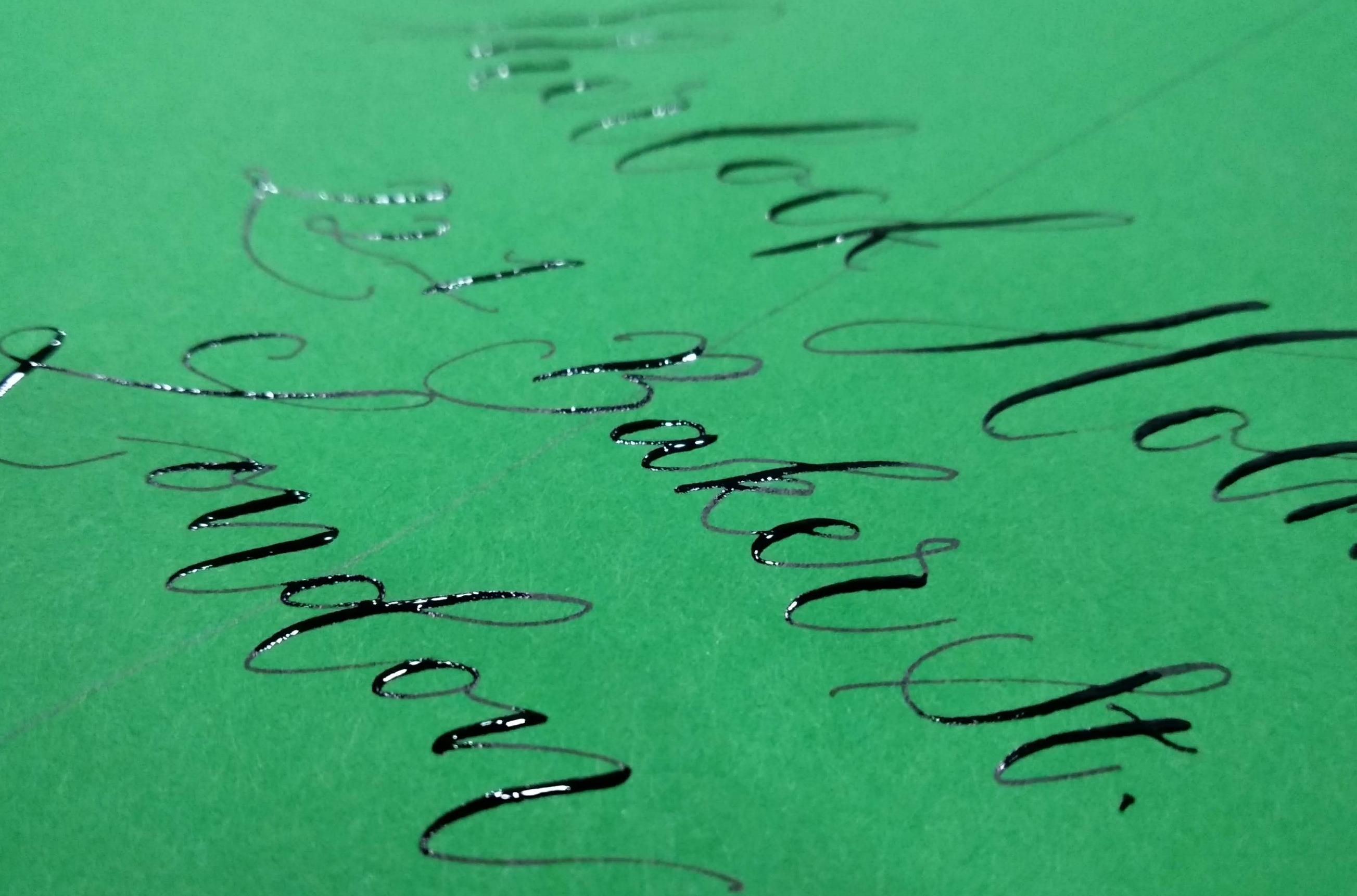 calligraphy envelope