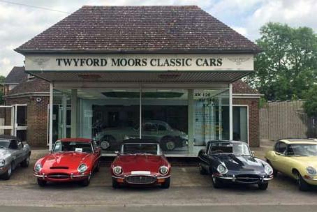 Twyford Moors - Classic Jaguar Specialist