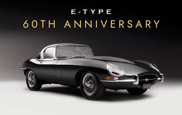 60th Year of the Jaguar E-type