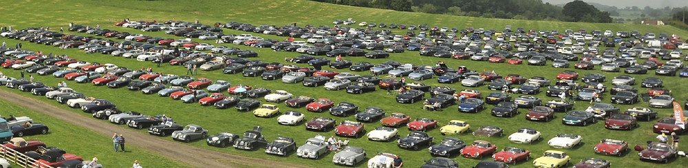 E-types gather at Shelsley Walsh