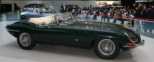 77RW the first production Open Two-Seater E-type
