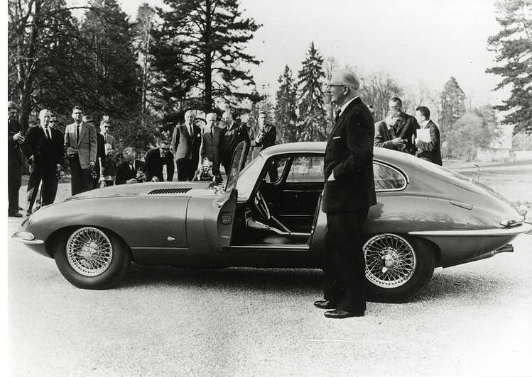 9600 HP at Geneva Launch in 1961