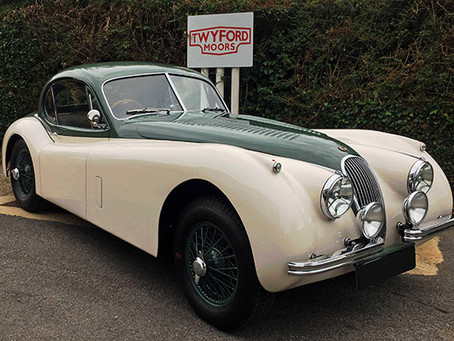 A Tale of Two Chassis - Sir Stirling Moss's Jaguar XK 120 FHC