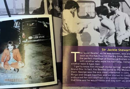 George Harrison – Enthusiast and E-type Man
