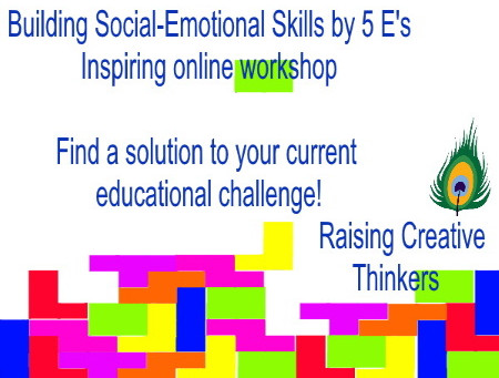 Building Social-Emotional Skills by 5 E's - method, book and online training.