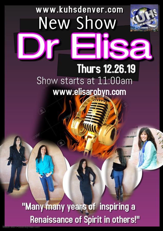 Dr Elisa Robyn -