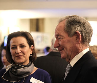 Event videography of Michael Buerk at Parliamentary Reception