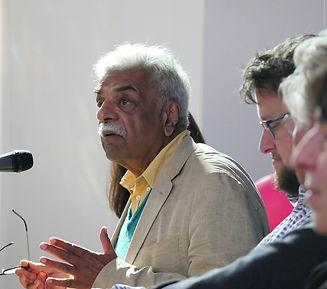 Event photography of Tariq Ali, The World Transformed, Brighton