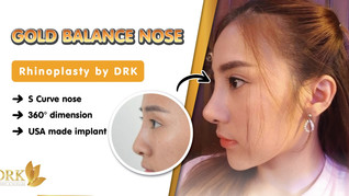 Nose like Korean! Operated by THAI doctors! No need to fly far abroad! only at DRK!