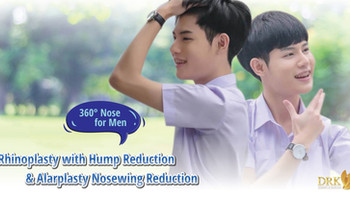 From deviated bulbous big nose to Ideal Nose for men by DRK