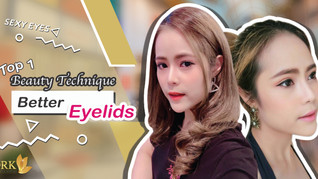 Top 1 Beauty Technique to achieve a naturally beautiful eyelids!