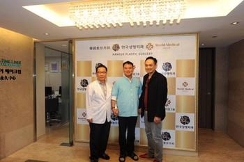 Dr. Kolwach meets Korean Surgeons