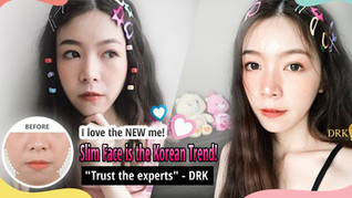 I got rid of my chubby cheeks through Buccal Fat Removal at DRK