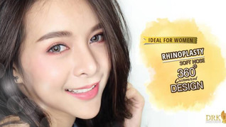 S-Curve Nose Line Korean Style Rhinoplasty by DRK
