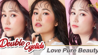 Naturally Beautiful Result of Double Eyelid Surgery by DRK!