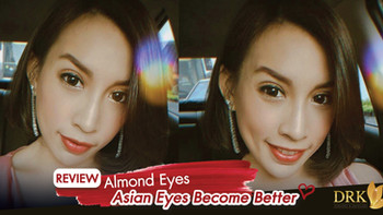 New Eye shape, the Almond Eyes are the best feature of my face so far! Double eyelid surgery by DRK