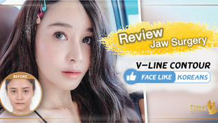 TOTAL Makeover with Korean V-Line Contour! Maxillofacial Surgery at DRK made my life as beautiful as