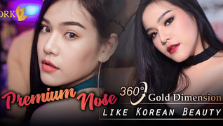 Achieve the Korean Beauty with Premium Nose! Customized Design that suits perfectly for you!