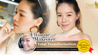Elegant beauty, perfect balanced facial ratio. Ultimate Makeover by DRK