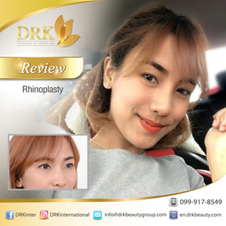 Changing face through Perfect Nose Line by Dr. Beer