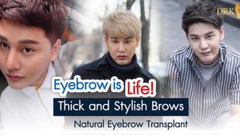 Amazing Eyebrow Transplant. One-time procedure, lifetime result!