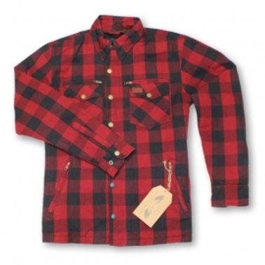 Protective Shirt Bordeaux / Dunkelblau M11-2023