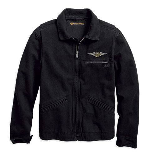 JACKET-WINGED LOGO/CASUAL 96691-19VM