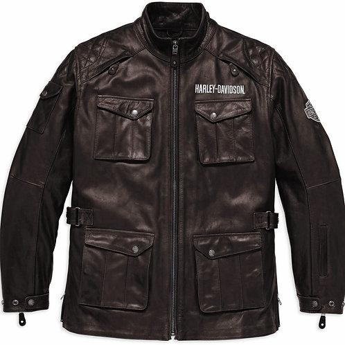 Harley-Davidson Lederjacke Messenger 3/4 EC 98123-17EM