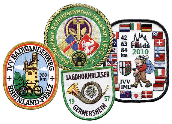 Stickembleme Aufnäher Patches
