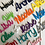 Thumbnail: Coloured Acrylic Personalised Place Names