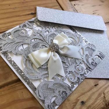Laser Cut Wedding Stationery