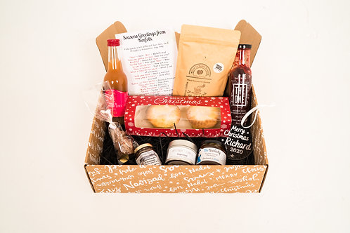 The Personalised Norfolk Christmas Hamper
