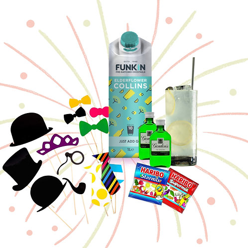 Gin Collins Cocktail Party Hamper