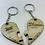 Thumbnail: Personalised Jigsaw Heart Keyring