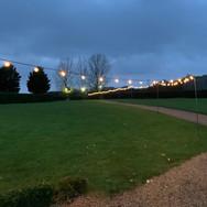 Pentney Abbey Festoon Lights