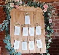 Choice of Table Plan
